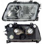 Optique de Phare Avant Droit H4+H7 Audi A3