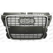 Calandre Audi A3 3 portes GRISE AVEC MOULURE CHROMEE AVEC PACKONTROL