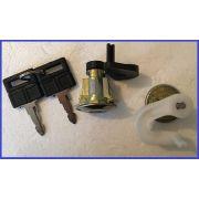 2 Serrures de porte + clef Peugeot 306